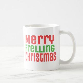¡Felices Navidad de Frelling! Taza De Café