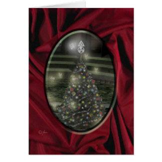 Felices Navidad de hadas Tarjeton