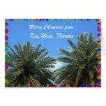 Felices Navidad de Key West, la Florida Tarjeton