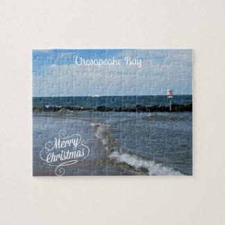 Felices Navidad de la bahía de Chesapeake Puzzle
