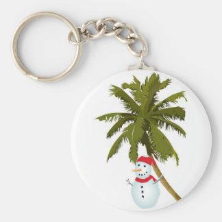 Felices Navidad de la Florida Llaveros