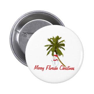 Felices Navidad de la Florida Pin