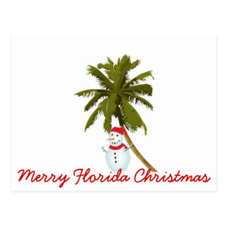 Felices Navidad de la Florida Postales