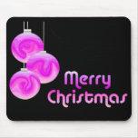 Felices Navidad de la MOD Tapetes De Raton