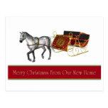 Felices Navidad de la nueva postal casera