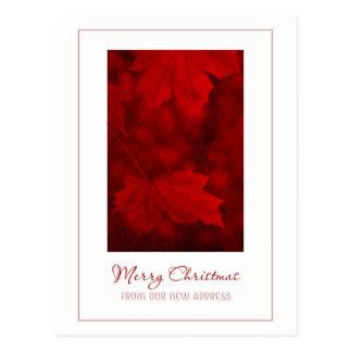 Felices Navidad de la nueva postal de la dirección