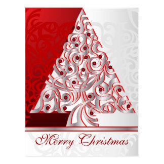 Felices Navidad de la postal