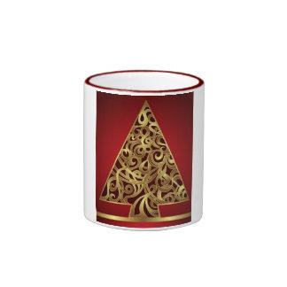 Felices Navidad de la taza