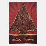 Felices Navidad de las toallas de cocina