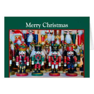 Felices Navidad de los cascanueces Tarjeta De Felicitación