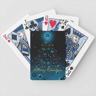 Felices Navidad de los naipes Baraja Cartas De Poker
