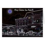 Felices Navidad de Nashville Tarjeta De Felicitación