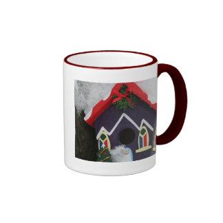 ¡Felices Navidad de nuestra casa el suyo Taza De Café