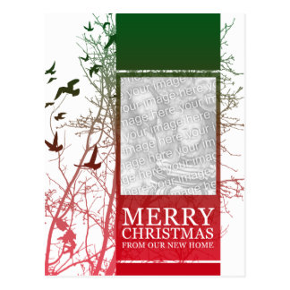 Felices Navidad de nuestro nuevo hogar Tarjetas Postales