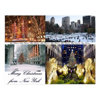 Felices Navidad de Nueva York Postales