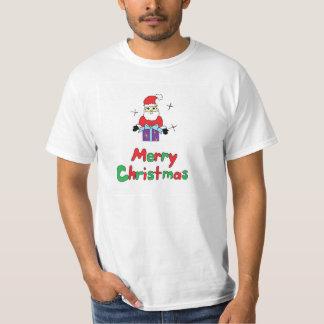 Felices Navidad de Papá Noel Playera