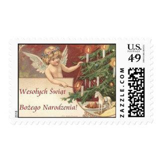 Felices Navidad de Wesolych Swiat Bozego Sellos