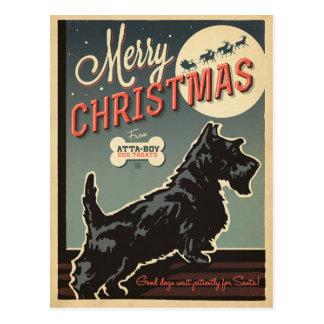 Felices Navidad del Atta-Muchacho Postal