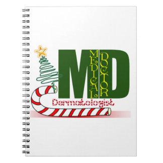 FELICES NAVIDAD del dermatólogo Libreta