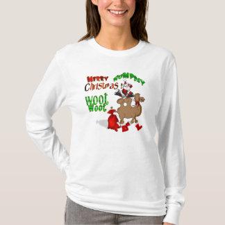 Felices Navidad del día de chepa Playera