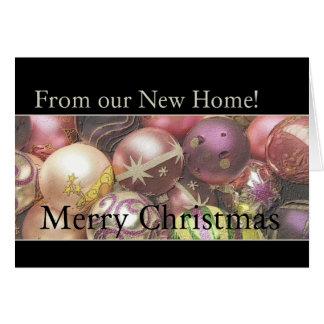 ¡Felices Navidad del nuevo hogar Felicitación