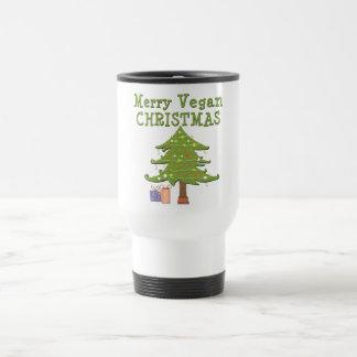 Felices Navidad del vegano Taza