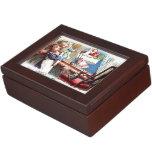 Felices Navidad del vintage Cajas De Recuerdos