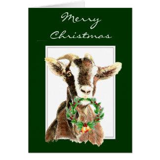 Felices Navidad divertidas del animal viejo de la  Tarjeta De Felicitación