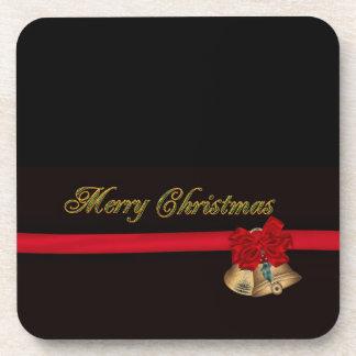 Felices Navidad elegantes Posavasos