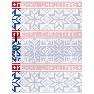 Felices Navidad escandinavas Pizarras Blancas
