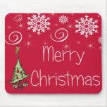 Felices Navidad especiales Alfombrillas De Ratón
