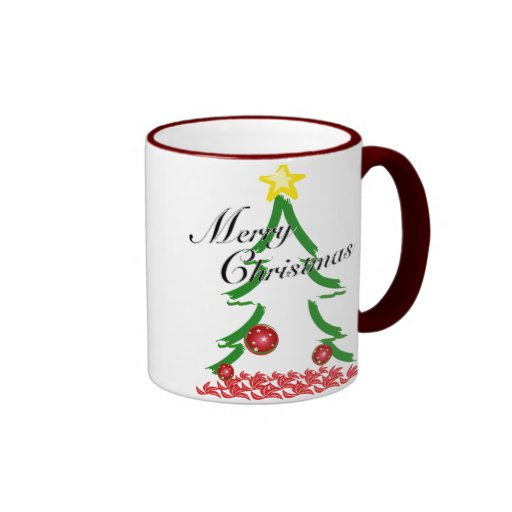 Felices Navidad especiales Taza De Dos Colores