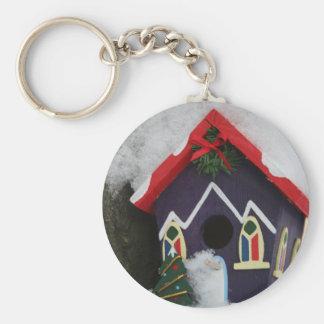 Felices Navidad estaciones que bendicen Llavero Personalizado