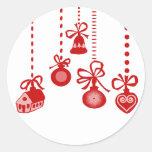 Felices Navidad Etiqueta