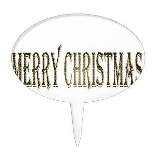 Felices Navidad felices Decoración De Tarta