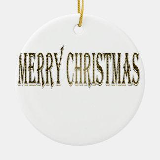 Felices Navidad felices Adorno De Reyes