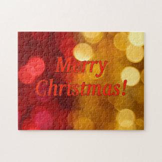 ¡Felices Navidad! Felices Navidad en inglés. rf Puzzle