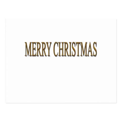 Felices Navidad felices Tarjetas Postales
