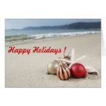 Felices Navidad/Feliz Año Nuevo de saludos calient Felicitación