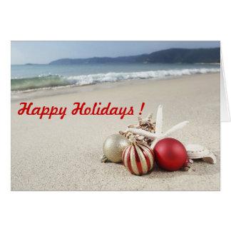 Felices Navidad/Feliz Año Nuevo de saludos Tarjeta De Felicitación