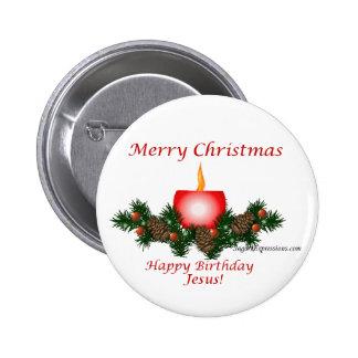¡Felices Navidad, feliz cumpleaños Jesús!! Pin