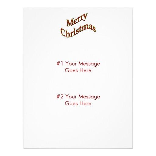 """Felices Navidad Folleto 8.5"""" X 11"""""""