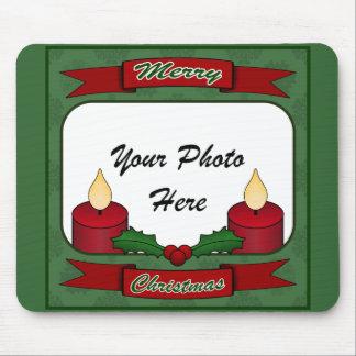 ¡Felices Navidad! Foto de encargo Mousepad Alfombrilla De Raton