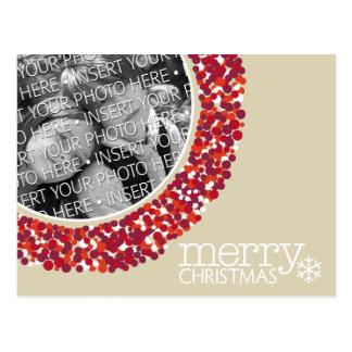 Felices Navidad - foto del día de fiesta Tarjetas Postales