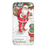 Felices Navidad Funda De iPhone 6 Barely There