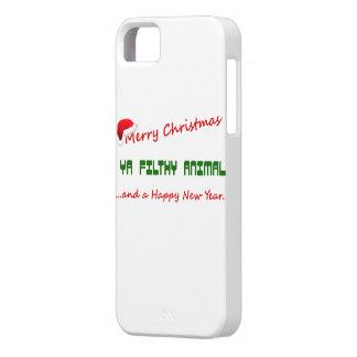 FELICES NAVIDAD FUNDA PARA iPhone SE/5/5s