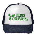 Felices Navidad Gorros Bordados