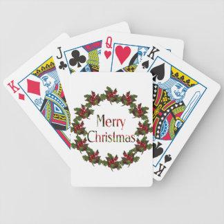 Felices Navidad: Guirnalda del acebo, conos del pi Barajas