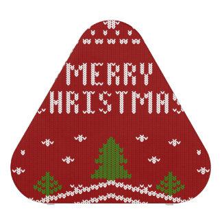 Felices Navidad, haciendo punto, modelo, verde, Altavoz