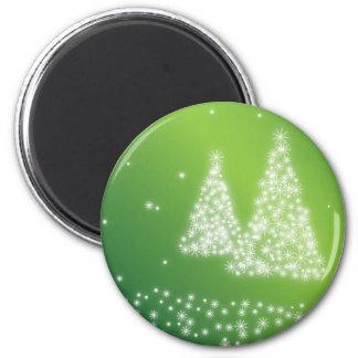 Felices Navidad Imán Redondo 5 Cm